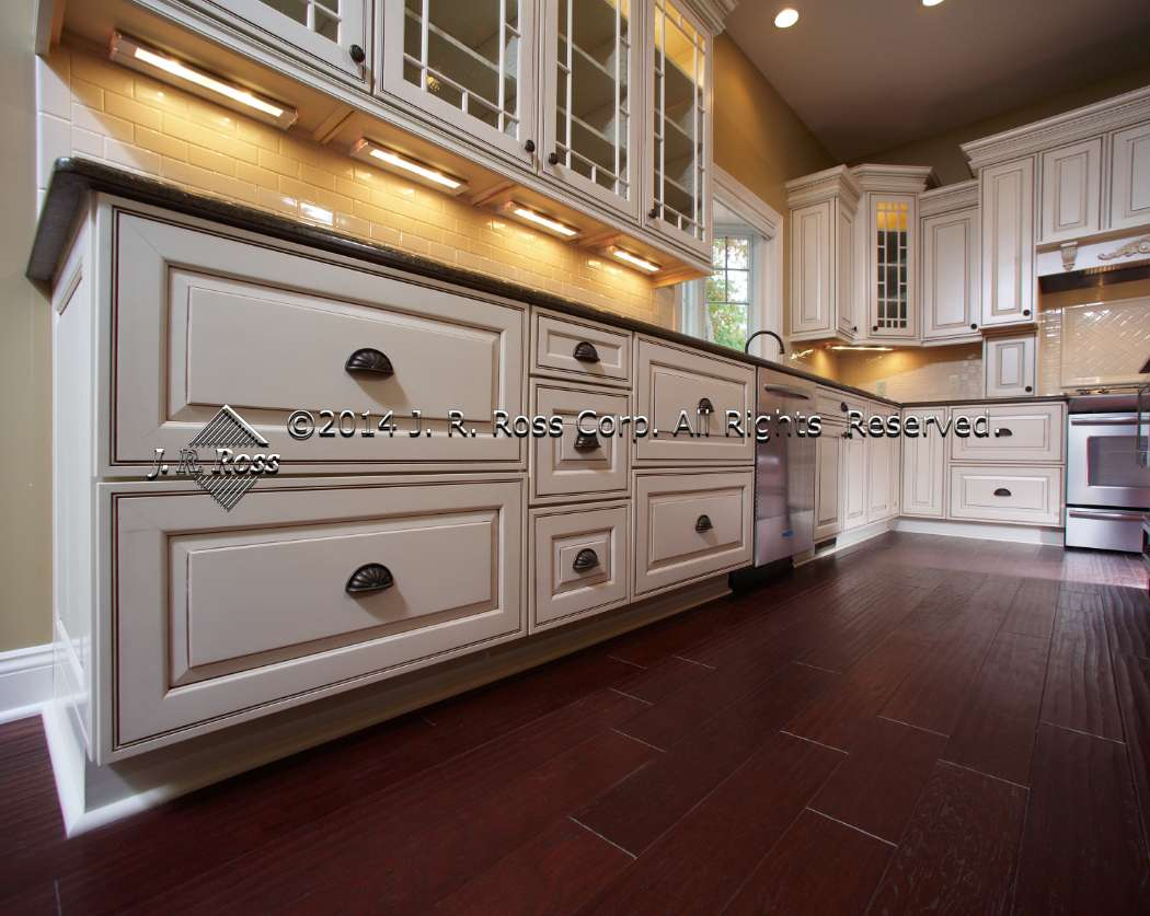 glazed kitchen cabinets painting